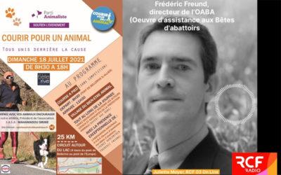 L'OABA sur RCF à l'occasion du premier «village du bien-être animal»