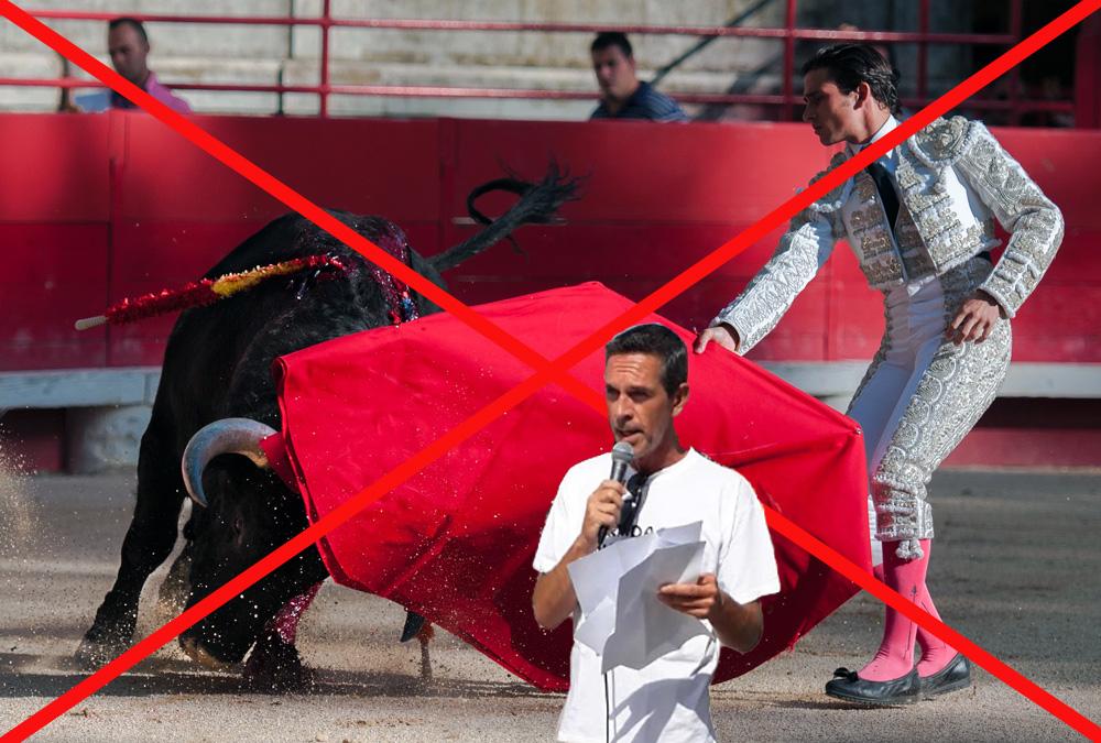 Tous ensemble contre la corrida !